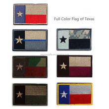 TEXAS STATE of USA American Flag Embroidered Patches