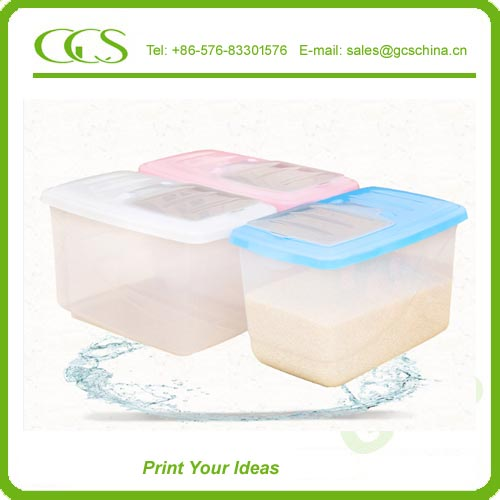 pp Long Term Food Storage Companies How Long Will Rice Last in Storage with lid cover