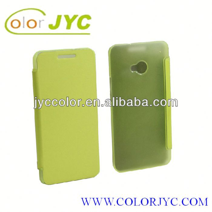 HJ164 hard shell cover case for HTC one (m7)