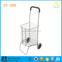 Guangzhou factory aluminum shopping trolley cart, shopping cart bag, supermarket shopping cart