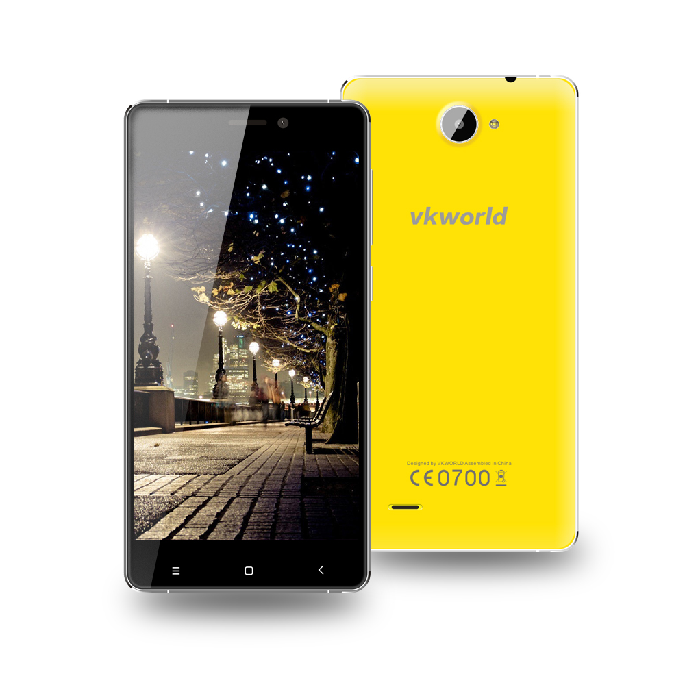 PK doogee X5 ! vkworld VK700X 5 inch MTK6580A Quad Core, 1GRAM 8GROM, Camera 5MP+8MP, Android 5.1 3G Metal Frame Mobile Phone