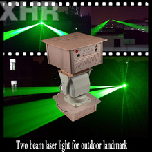 Outdoor High Building 2W Landmark Laser Light /2km Strong Beam sky Laser