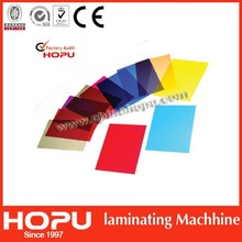 Colorful plastic cover/transparent binding cover/plastic pvc cover from HOPU