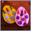 Easter Holiday Hand Painted Egg Decorative Egg Felt Craft/pen box