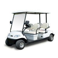 New Product Battery 4 passengers electric golf car