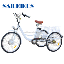 battery powered tricycle for old people