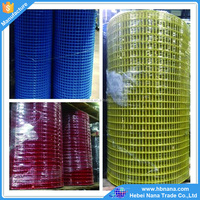 Yellow Pvc Coated Welded Wire Mesh Fence Available / Galvanized Welded Wire Mesh Roll