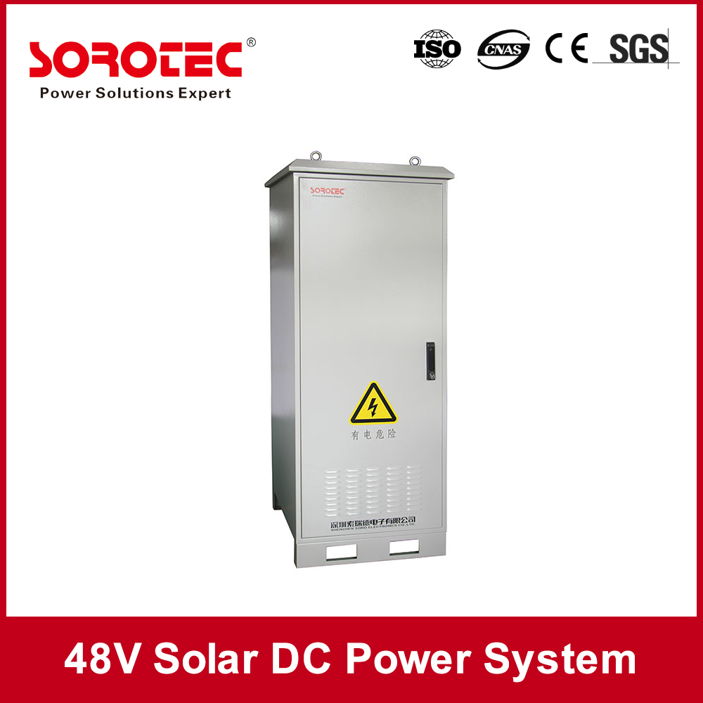 48VDC Off Grid Solar Power System Telecom Base Station Power Use
