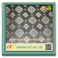 Fashion New Design Latest Style Polyester Jacquard Fabric Curtain