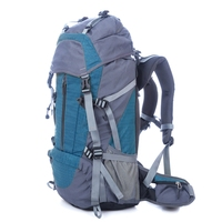 High-Capacity Common Blue Shoulder Bag Nylon For Hiking
