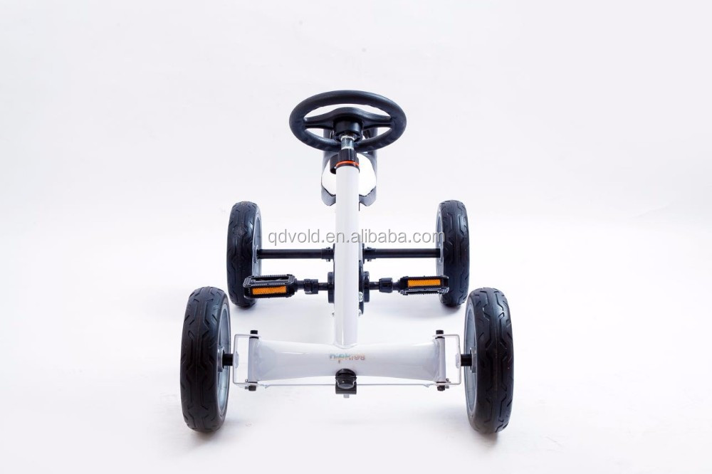 4 wheels pedal go kart