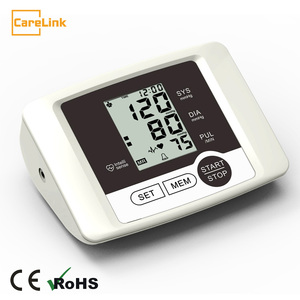 Digital free upper arm type blood pressure monitor