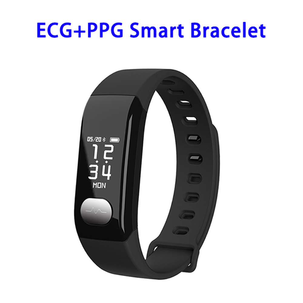 Chinese Factory E29 Smart Chip Bluetooth Wireless PPG+ECG Sports Smart Bracelet Blood Pressure