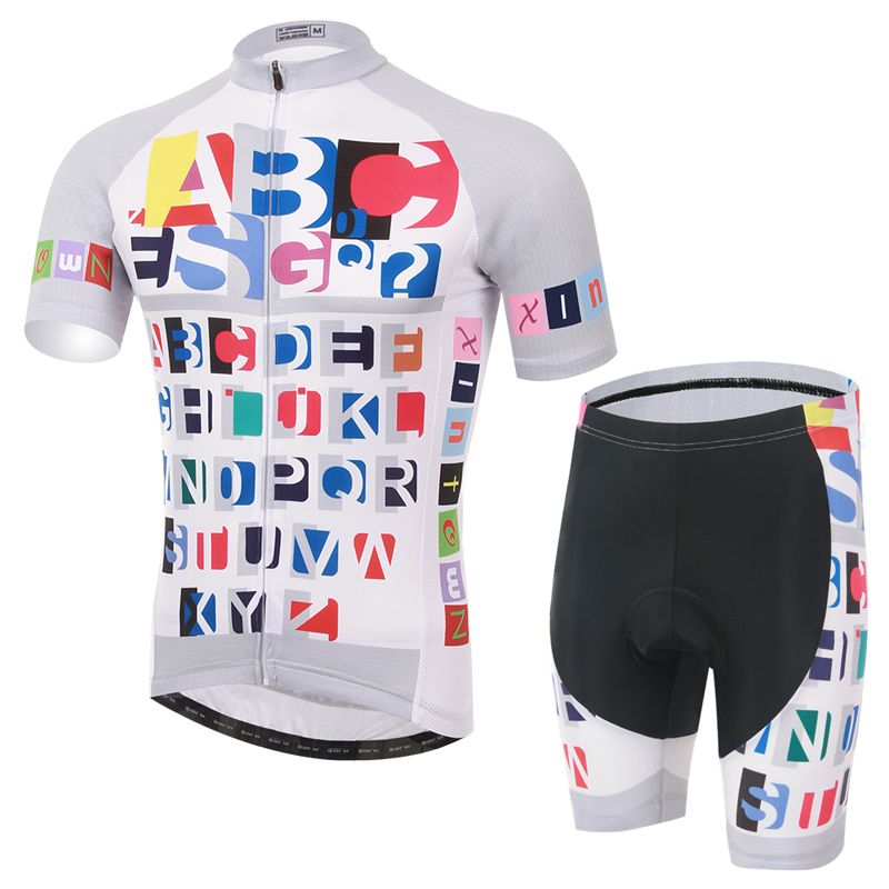 new design 100% polyester sublimated mens bicycle shirt