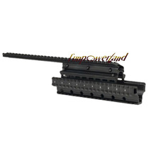Funpowerland Aluminum Saiga 12-Gauge Accessory Mount System Forend with 2 Top Slots Attach Optics and Accessories