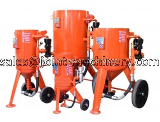 pressure portable sandblaster cabinet for burrs removing