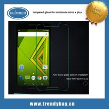 Nillkin round edge H+ tempered glass screen protector for motorola moto x play