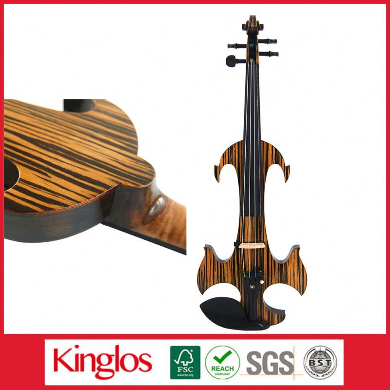 Handmade Advancel Maple electric Violin 4/4 With Violin Bow Violin Case (MWDS-1911)red colored violins