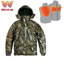 Manufacturer clothing camo heated hunting wear