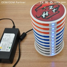 IWOXS menu advertising electronic products stackable power bank with 32000mAh used in restaurant,bar,club and coffee bar