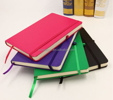 elastic band pu notebook / rubber band book
