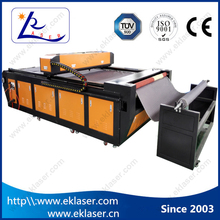auto feeding laser fabric cutting machine/textile cloth laser cutter