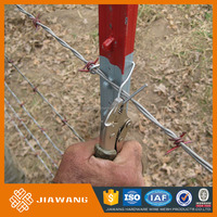 High Performance concertina 500 meters barbed wire installation