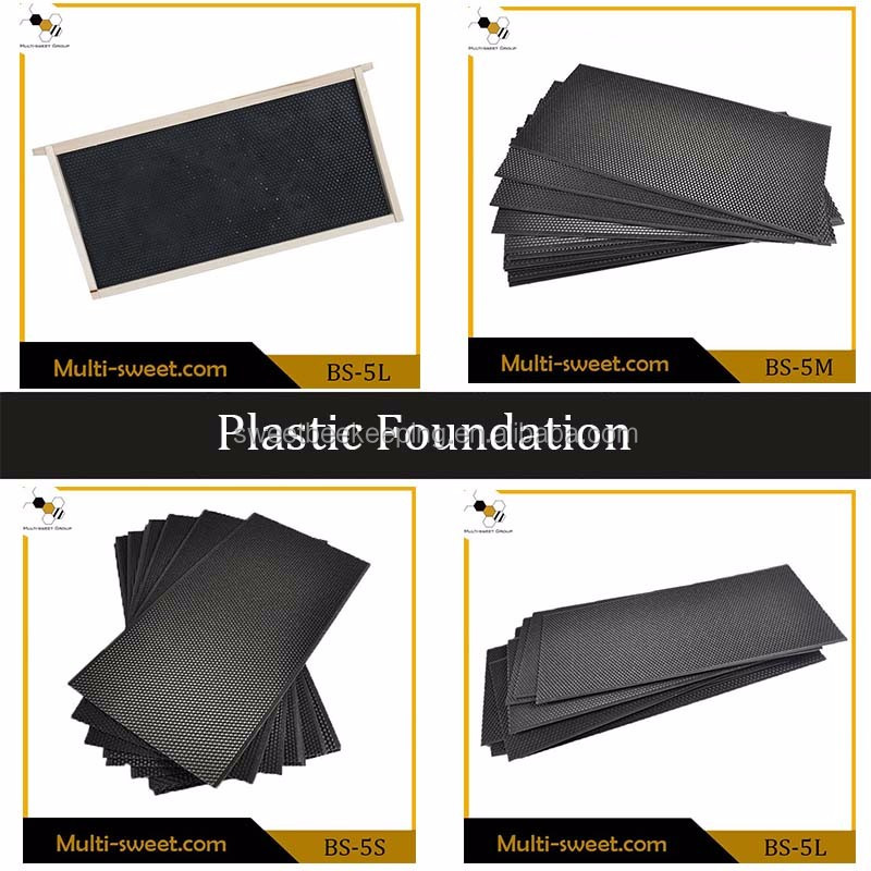 Durable Beekeeping tool Plastic Honey Bee Frames Foundation Sheet