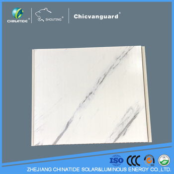 Marble design indoor deration PVC interior wall panell