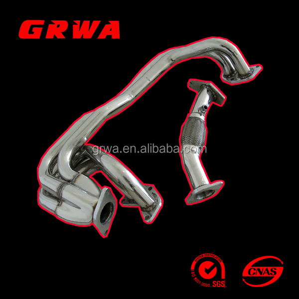 STAINLESS STEEL HEADER SUIT FOR IMPREZA 2.5RS 97-05