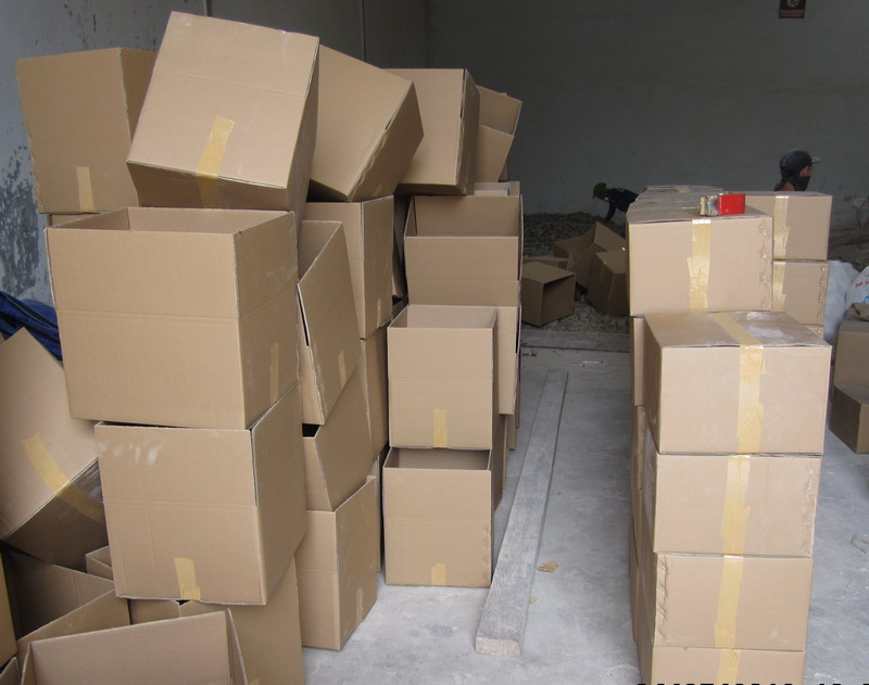 GUM COPAL WAREHOUSE 2 CARTON BOX PACKING