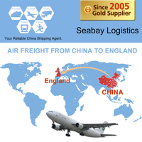 Cheap air cargo freight service from china to london