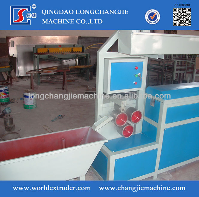 full automatic pp strap making machine,light weight pp strap making machine two strap band line one time with high capacity