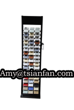 marble stone sample tower granite stone display stand