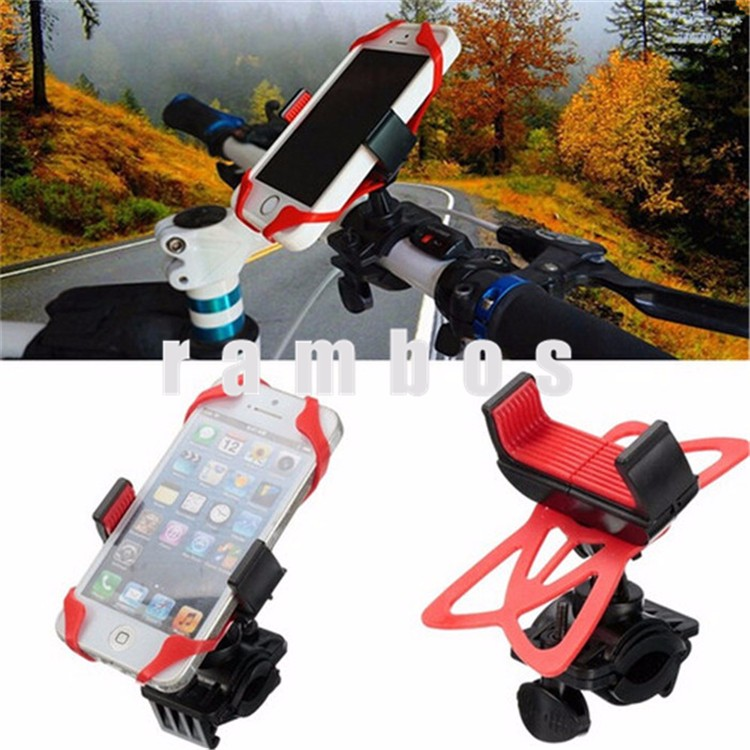 Novelty 2016 Universal Phone Security Holder Bike Bicycle Handlebar Mount Cradle Support for Samsung Galaxy S7 /S6 /S6 egde