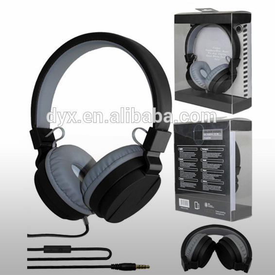 best quality cartoon headphone computer headset headphone jack remote control