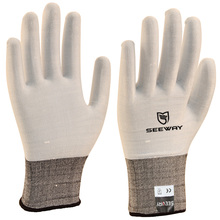 Seeway 18 Gauge Nylon Knitted Beautiful Thin Lady Gloves