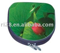 D shaped CD tin case