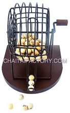 High Quality Classic BINGO SET with WOOD BALLS and BASE