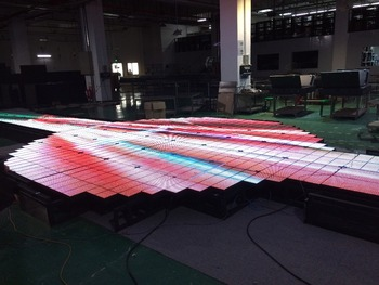 Dance floor LED display screen/LED dance floor LED display
