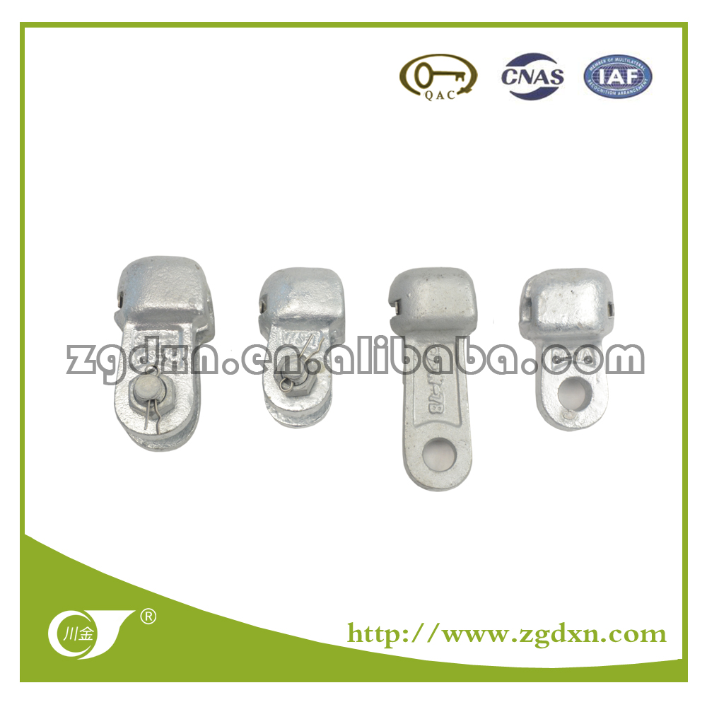 Cast Alloy Steel W Type Socket Clevis Eye with Bolt and Fitting