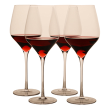 630ML wholesale handmade Lead-free Crystal Red Wine Glass / Clear Stemware Wine Glass / Glassware / Tall Glass for bar , hotel ,