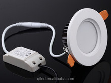 3'' round 6W 3inch aluminum lamp body led lighting downlight