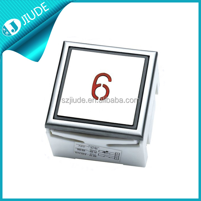 Kone Elevator Push Button Lift Square Push Button