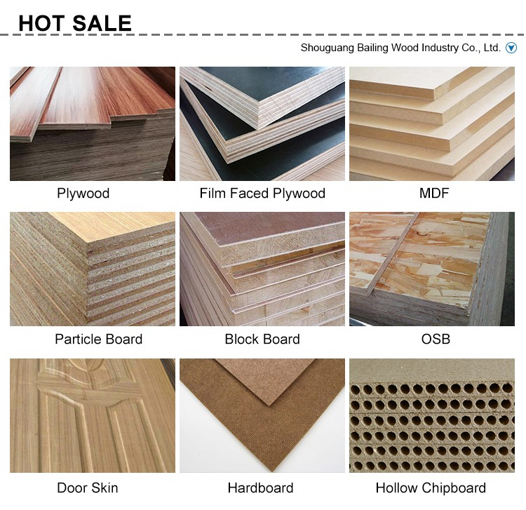 Glossy Finish 13-Ply Wood Grain Melamine Plywood Manufacturers