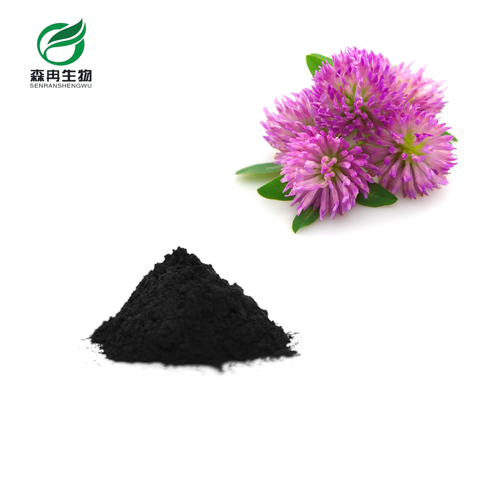 SR Factroy Supply 100% Natural Red Clover 20% Isoflavones Organic Extract