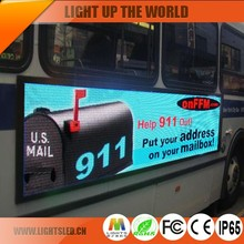 Cheap Popular Full Color Super Bright P5 Moblie Bus LED Video Display Board With OEM Reasonable Price