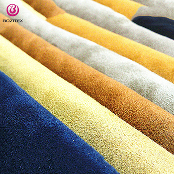 High fastness suede sofa fabric