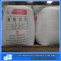 Fibc bag manufacturer high quality strong capacity big bag for pet flakes