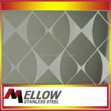 4x8 3d wall panel 201 304 color stainless steel sheet metal price list